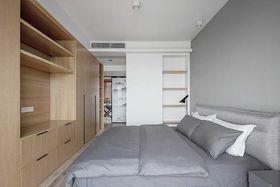 130平米三室两厅北欧风格卧室装修图片大全
