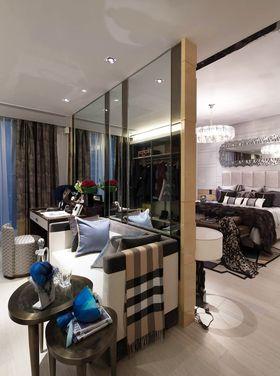 110平米三室两厅法式风格客厅装修效果图