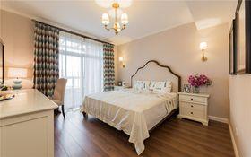 经济型140平米三室两厅美式风格卧室图