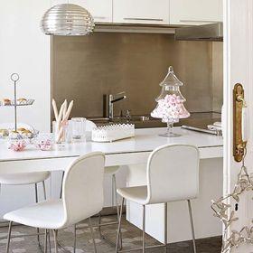 100平米三室一廳現代簡約風格餐廳欣賞圖