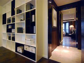 富裕型120平米三室一厅现代简约风格书房图片大全