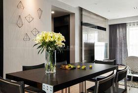 100平米三室一廳現代簡約風格餐廳圖片大全