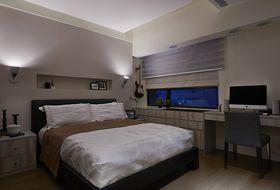 90平米三现代简约风格卧室欣赏图
