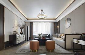 110平米三室一厅中式风格客厅装修图片大全