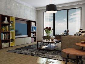 现代简约风格客厅效果图