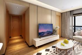 70平米三室两厅北欧风格客厅装修案例