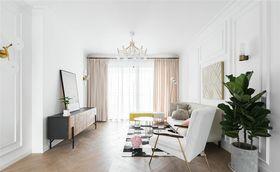 80平米三室两厅北欧风格客厅设计图