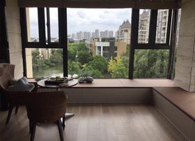 140平米三室两厅日式风格阳台装修效果图