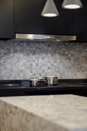 70平米现代简约风格厨房装修图片大全