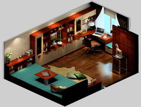 3万以下30平米以下超小户型中式风格卧室图片大全
