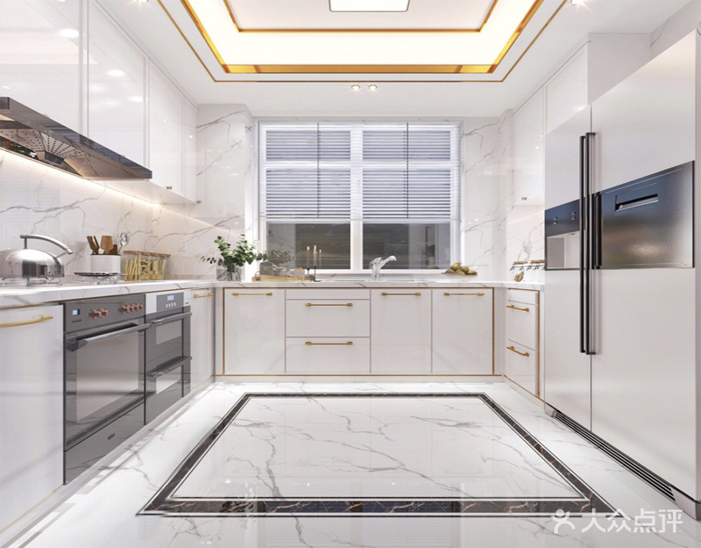 110平米三室一厅其他风格厨房图片大全