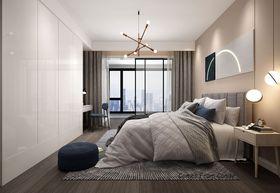 140平米复式混搭风格卧室效果图