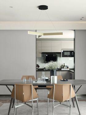 130平米三现代简约风格餐厅装修案例