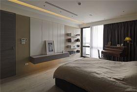 130平米三室两厅其他风格卧室欣赏图