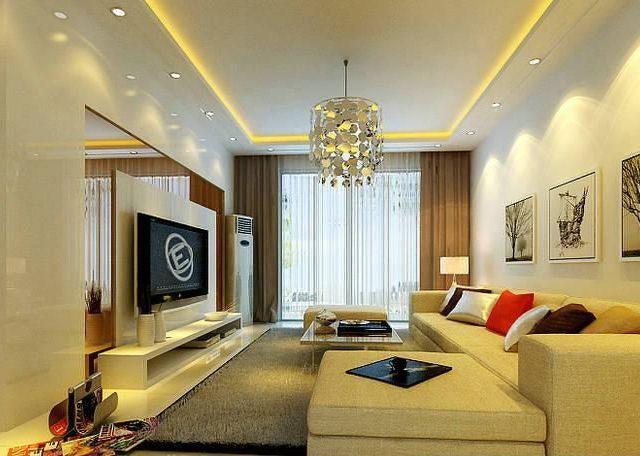 七十平米房子装修——客厅