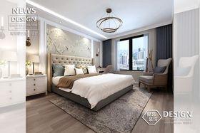 100平米三现代简约风格卧室装修案例