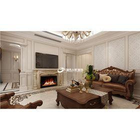 140平米三法式风格客厅装修案例