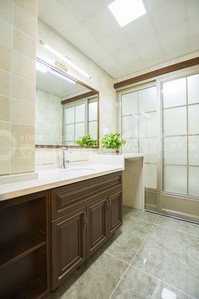 90平米三室两厅中式风格卫生间图片