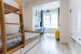 110平米三室一厅北欧风格儿童房图片
