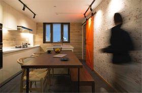 120平米三室兩廳現代簡約風格餐廳圖片大全