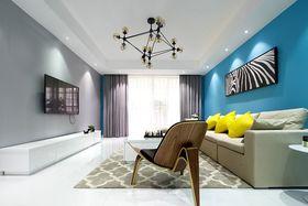 经济型110平米三宜家风格客厅装修效果图