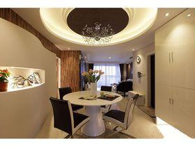 5-10万100平米三室一厅现代简约风格餐厅装修案例