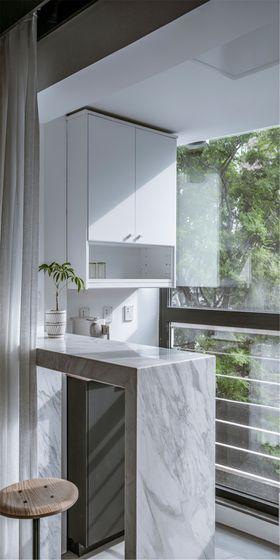 50平米公寓其他风格阳台装修案例