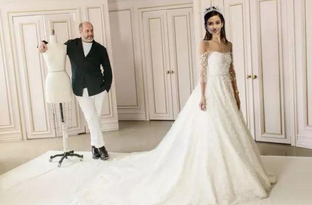 Angelababy大婚穿什么婚纱?