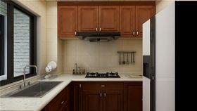 100平米三室两厅中式风格厨房效果图