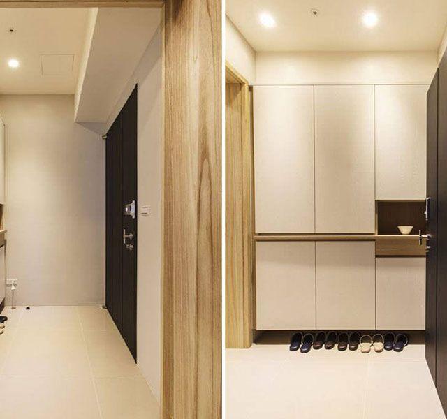例如过道,很多住宅的规划都是一进门就会是过道,或者一进门就是一个