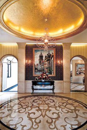 140平米别墅新古典风格玄关图片