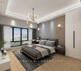 130平米四室兩廳現代簡約風格臥室圖片大全