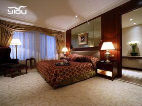 90平米公寓混搭风格卧室装修效果图
