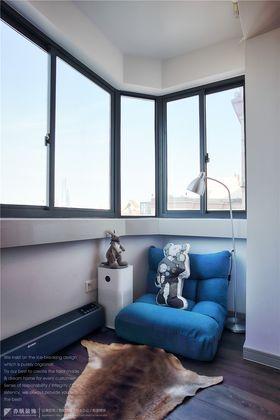 120平米现代简约风格阳台装修图片大全