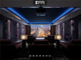 140平米别墅日式风格影音室图