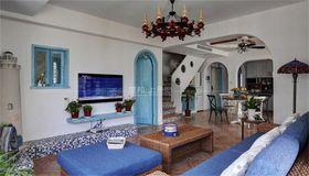 140平米别墅地中海风格客厅设计图