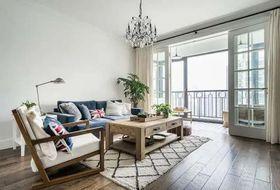90平米現代簡約風格客廳欣賞圖