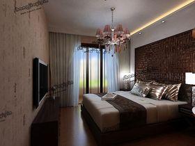 20万以上100平米三室两厅中式风格卧室图
