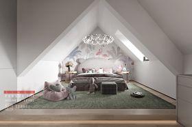 140平米别墅法式风格阁楼图片