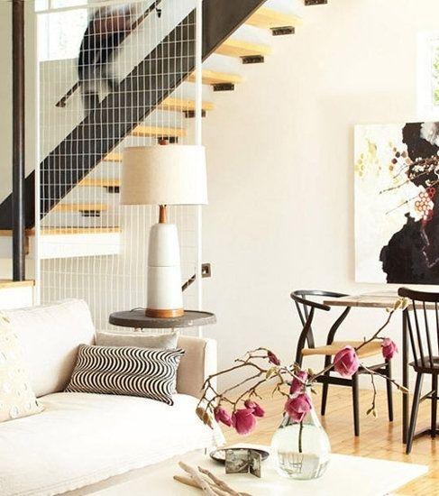 复式婚房装修 客厅楼梯巧设计
