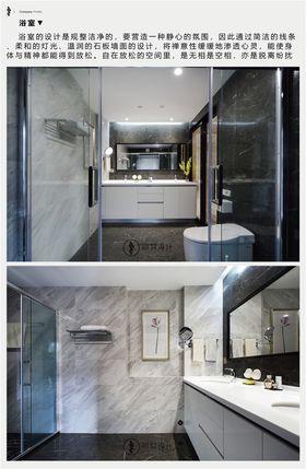 豪華型140平米四室兩廳現代簡約風格衛生間效果圖