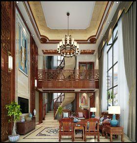 140平米別墅歐式風格樓梯間裝修效果圖