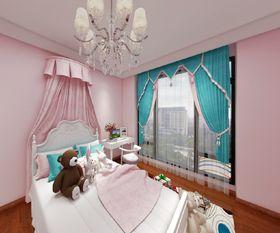 80平米美式風格臥室欣賞圖
