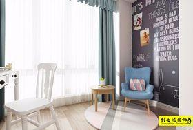 90平米三室一厅北欧风格阳台设计图