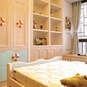 5-10万110平米三室两厅中式风格儿童房图片大全
