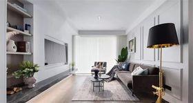 90平米三室两厅北欧风格客厅装修图片大全