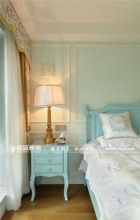 140平米复式美式风格卧室图