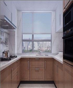140平米三室一厅现代简约风格厨房装修案例