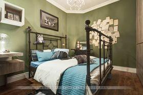 140平米复式美式风格卧室装修效果图
