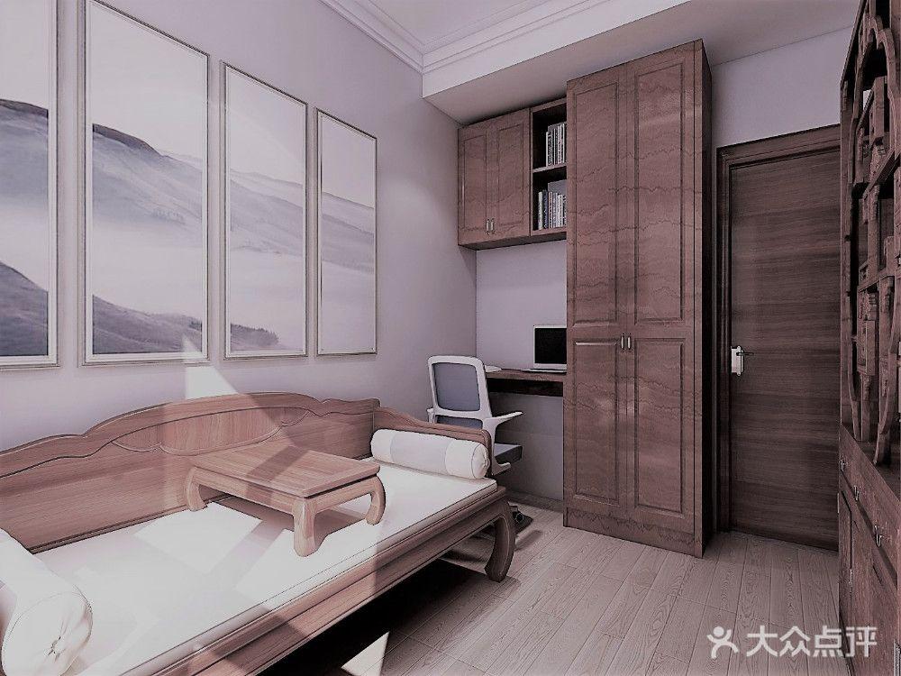 50平米中式儿童案例房装修风格服装设计李军图片